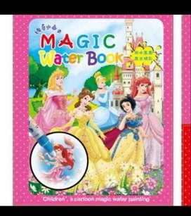 MAGIC WATER BOOK BUKU MEWARNAI ANAK MAGIC PENA AIR
