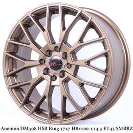 Velg Hsr Wheel Ring17X7 H8x100/1143 Et45 Smbrz R