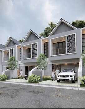 Rumah 2 Lantai Mewah dengan Konsep Modern Kekinian harga Ekonomis