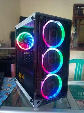 Pc gaming i5 3470/ram 8gb/ssd 120gb&hdd 500gb/vga RX570 4gb ddr5 new
