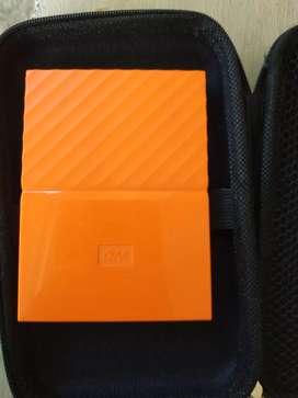 Hardisk external wd passport ultra 1tb