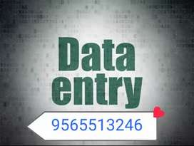 We need candidate for data data entry typing