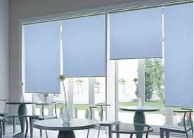 roller blinds in plain colors