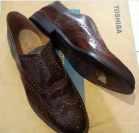COD  FreeReady_ shoes rare london marks & spencer import formal maroon