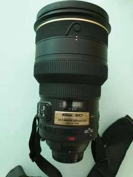 Lensa Nikon AF-S 200 mm F/2G
