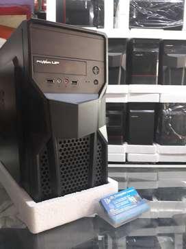 Cpu Core2duo Ram 4gb Harddisk 250gb Casing Baru Standart