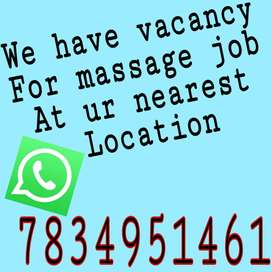 we have vacancy for massage job at your nearest place