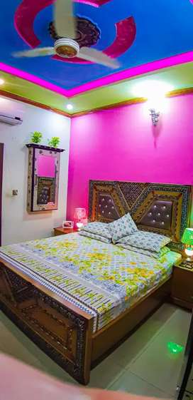 5 Marla house portion for rent near harbanspura canal bank road lahore