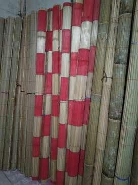 Tirai isi bambu dan tirai bambu dan isi bqmbu