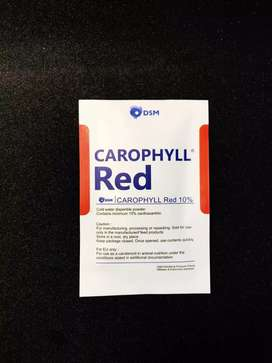 Exstra Fooding Carophyll Red, Pink, Yeloow Astaxanthin 5gr