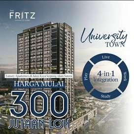 Apartemen the FRITZ alam sutera harga perdana 300jtan