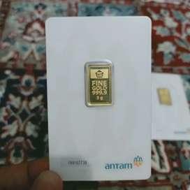 Jual emas antam certi 3 Gram