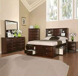 dipan kamar set blok laci drawer