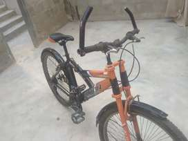 Gear wali cycle and tube less tyre