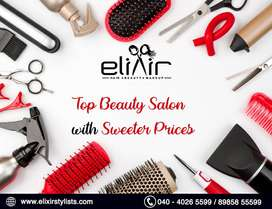 Elixir  Salon | Hair |Skin | Tatoos |Unisex Salon In Hyderabad