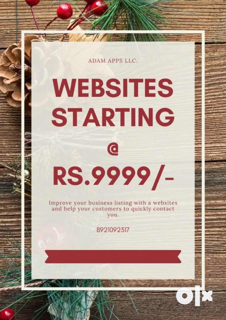 Dynamic WordPress starting at Rs. 9999/-