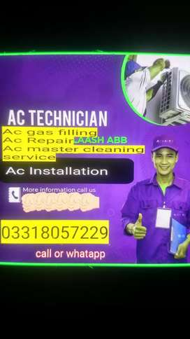 Pel Ac fir sale Ac installation technicians