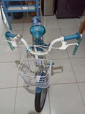 Sepeda anak 16 inch Element Frozen 2