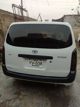 Toyota probox model 2007.reg 2013 islambad tokan clear.