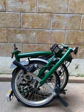 brompton S6L racing green Sn 20