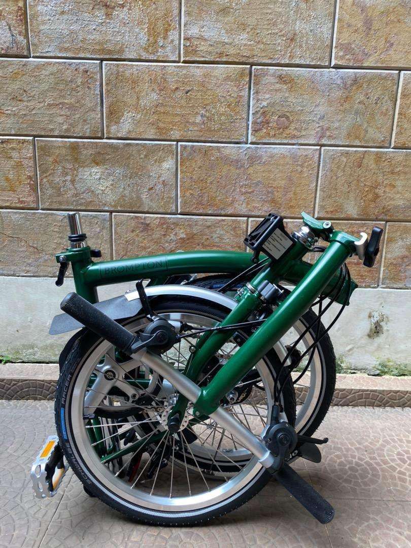 brompton S6L racing green Sn 20 0