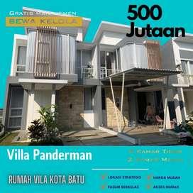 Promo Villa termurah Panderman 500jutaan 2 lantai