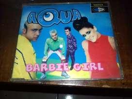 cd music original aqua barbie girl impor