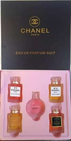 Chanel gift set 5in1 @5ml