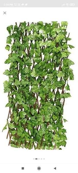 Artifical grass wall hanging