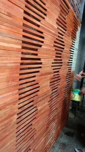 Tirai bambu dan rotan dan kayu terbaru