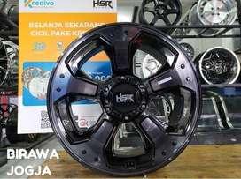 jual velg HSR Racing R18x8 pcd 10x100-1143 bk/oil