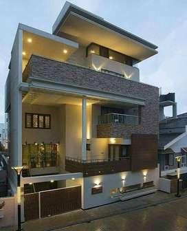 3BHK villa in ponmar with 1303sqft corner plot and 1200sqft build up