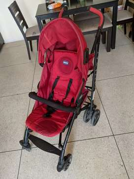 Chicco baby pram stroller + free handle bar excellent condition