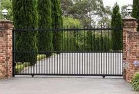 Jasa pemasangan pintu pagar besi berbagai tipe bisa service