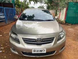 Toyota Corolla Altis 2009 LPG fitted