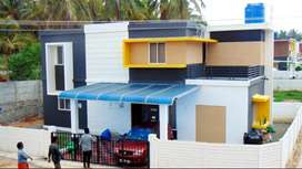 15 mins drive from chitoor-4.9cent land 3BHK House for Sale
