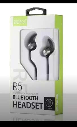 Headset Bluetooth  ROBOT R5 (Rave cell Sako)