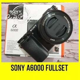 Sony A6000 fullset