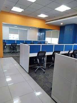 fully furnished office space available at prime location