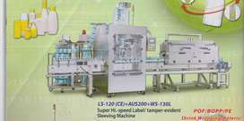 Sleeving machine, Packaging machinery and materials