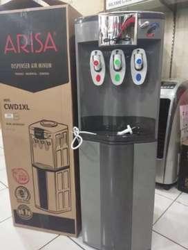 Dispenser Arisa TCL air panas-dingin-netral CWD-1XL
