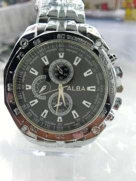 Jam tangan berkwalitas tinggi gratis dompet kulit/tali pinggang kulit