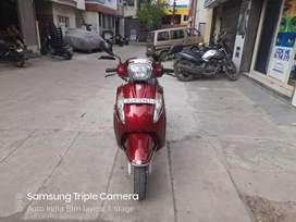 Auto India Red suzuki access 17 single owner Showroom Condition