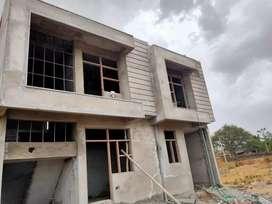 2&3 bhk 90% Loanable Society Patta Villa in Sinwar Mod Bindiyiaka