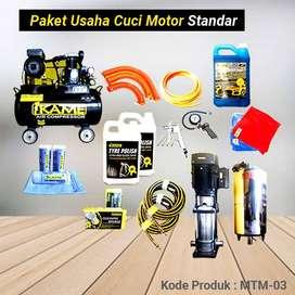 Paket Peralatan Usaha Cuci Motor Standart – MTM 03