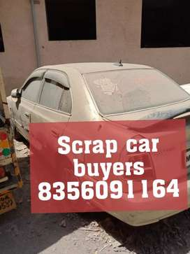 Any car for scrap we r buyers