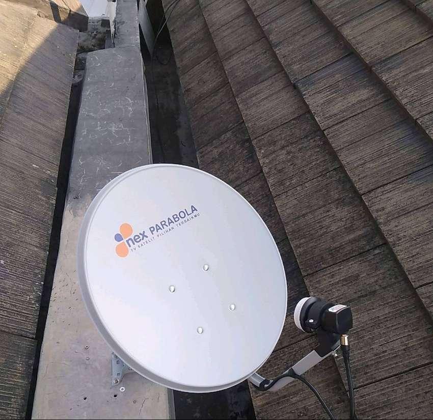 Parabola mini tv nasional lengkap tanpa biaya bulanan