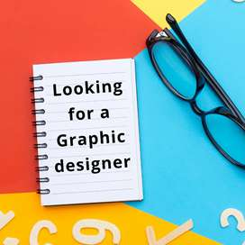 Immediate opening for a Graphic Designer