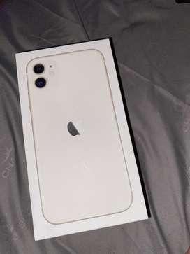 iphone 11 64gb white garansi ibox