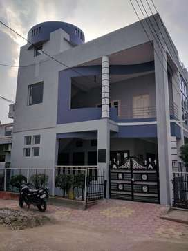Corner house with G+1 construction in scheme no 78, Vijaynagar, Indore